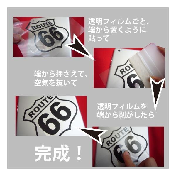 切り文字ステッカー  色&英数字・変更OK    TYPE - ROUTE 66  M/15cm   カッティングシート・シール・デカール|motologo|03