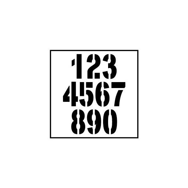 切り文字ステッカー  00〜49 色&数字変更OK    TYPE - NO.02  M/10cm  カッティングシート・シール・デカール|motologo|02