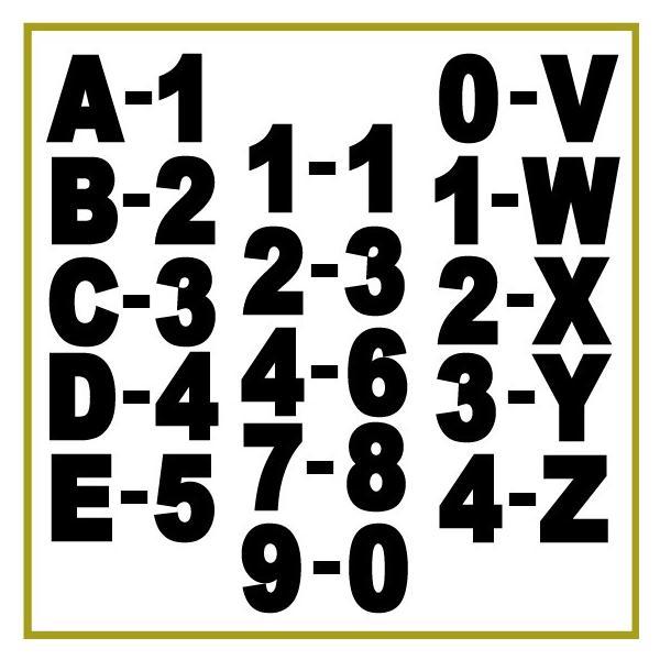 切り文字ステッカー  色&英数字・変更OK    TYPE - A-1  M/7.5cm   カッティングシート・シール・デカール|motologo|04