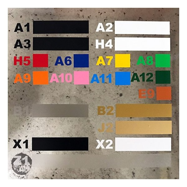 切り文字ステッカー   色変更OK CHECKER  2SIZE-SET  カッティングシート・シール・デカール|motologo|04