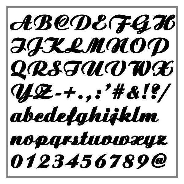 切り文字ステッカー  色&英数字・変更OK     LOGO - K   M/15cm  カッティングシート・シール・デカール|motologo|02