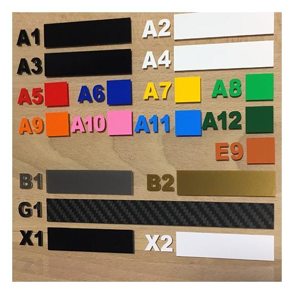 切り文字ステッカー  1〜5文字 色&英数字・変更OK    STENCIL  S/2.5cm  カッティングシート・シール・デカール|motologo|03