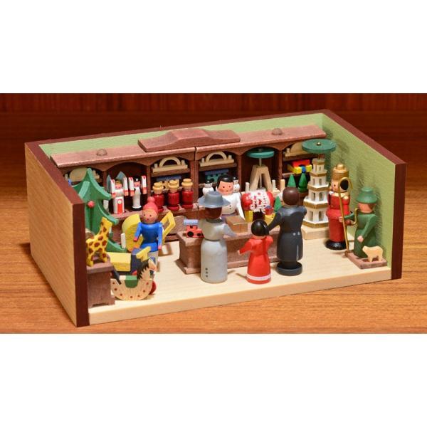 ドイツ木工芸品 ミニチュアの部屋 おもちゃ屋 玩具|motomachi-takenaka|02