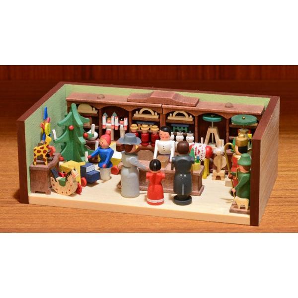 ドイツ木工芸品 ミニチュアの部屋 おもちゃ屋 玩具|motomachi-takenaka|03