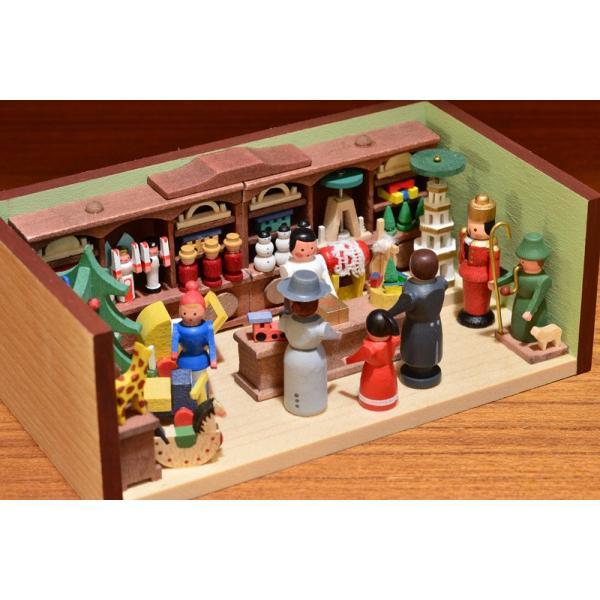 ドイツ木工芸品 ミニチュアの部屋 おもちゃ屋 玩具|motomachi-takenaka|04