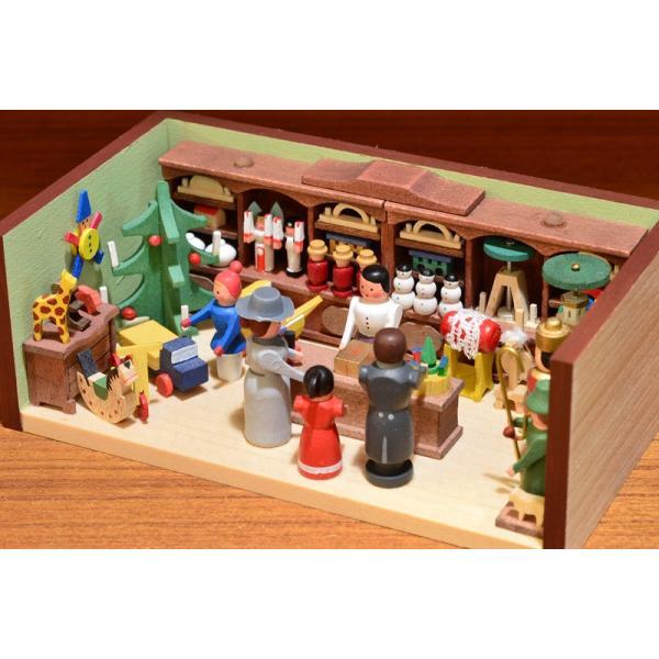 ドイツ木工芸品 ミニチュアの部屋 おもちゃ屋 玩具|motomachi-takenaka|05