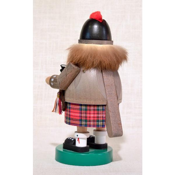 ドイツ木工芸品 ナッツクラッカー くるみ割り人形 スコットランド人 バグパイプ|motomachi-takenaka|03