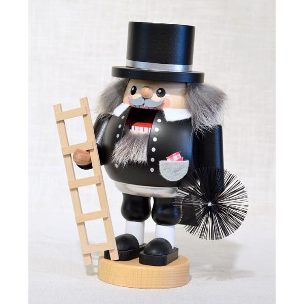 ドイツ木工芸品 ナッツクラッカー くるみ割り人形 煙突掃除人 幸運 motomachi-takenaka 02