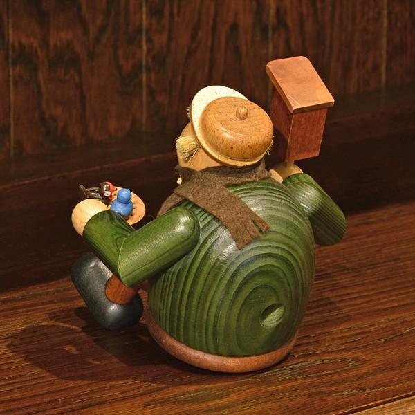 ドイツ木工芸品 煙出し人形 愛鳥家|motomachi-takenaka|05