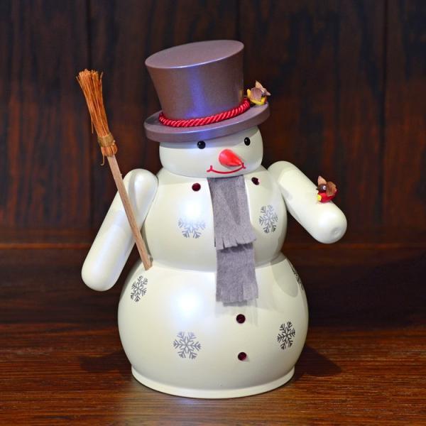 ドイツ木工芸品 ナッツクラッカー くるみ割り人形 スノーマン 雪だるま|motomachi-takenaka|02