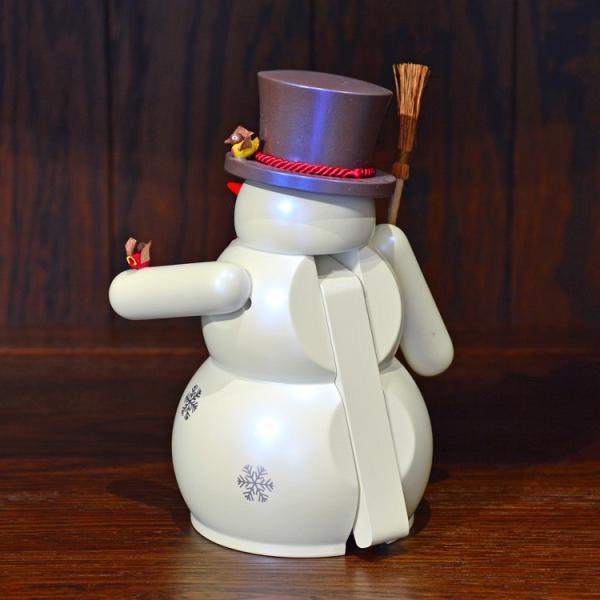 ドイツ木工芸品 ナッツクラッカー くるみ割り人形 スノーマン 雪だるま|motomachi-takenaka|03