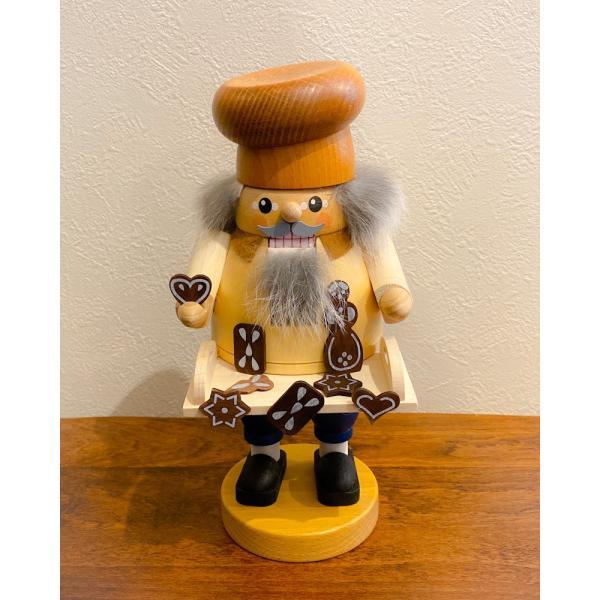 ドイツ木工芸品 ナッツクラッカー くるみ割り人形 お菓子売り|motomachi-takenaka