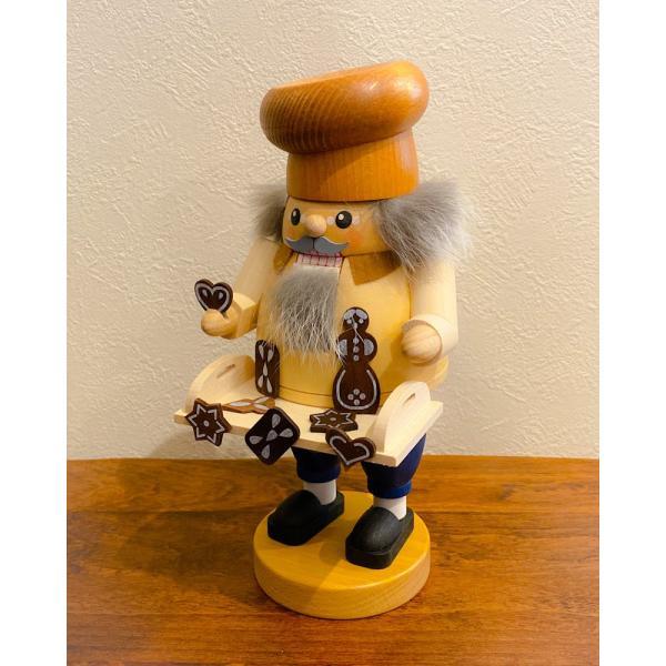 ドイツ木工芸品 ナッツクラッカー くるみ割り人形 お菓子売り|motomachi-takenaka|03