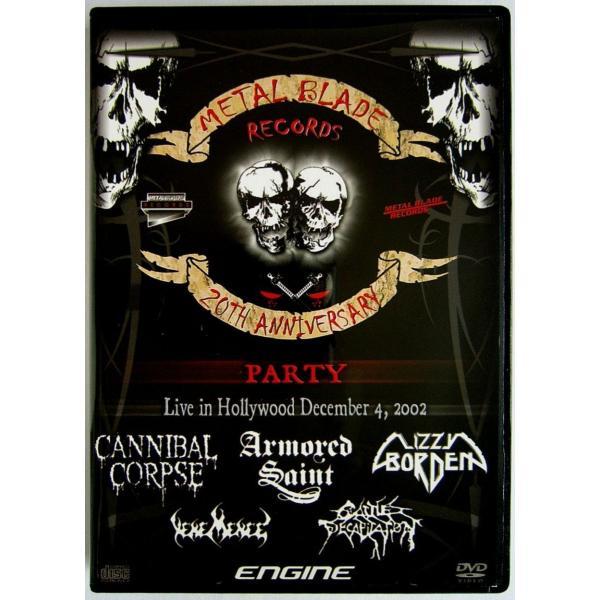 【中古】V. A.  / METAL BLADE RECORDS 20th Anniversary Party〔輸入盤DVD+CD〕