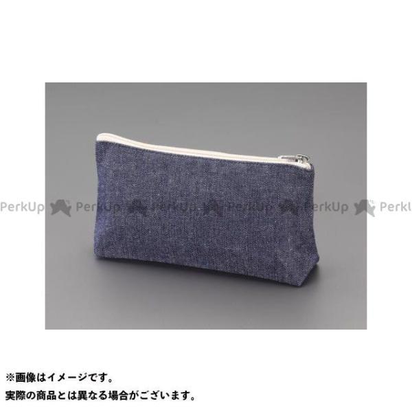 【雑誌付き】エスコ 240x100x 60mm 工具袋(マチ付) ESCO
