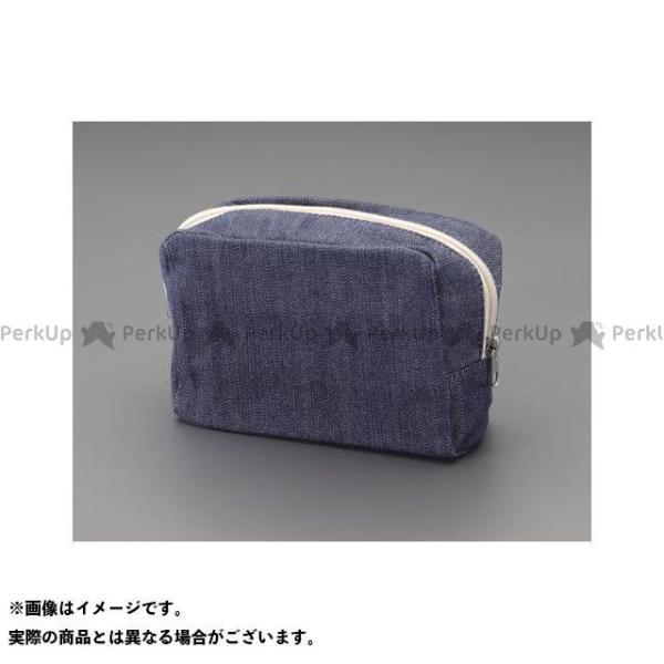 【雑誌付き】エスコ 120x 85x 55mm 工具袋(マチ付) ESCO