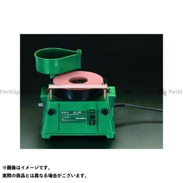 【雑誌付き】エスコ AC100V/180W/φ205mm 刃物研磨機 ESCO