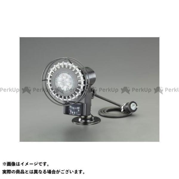 【雑誌付き】エスコ AC100V/19W LEDセンサーライト ESCO