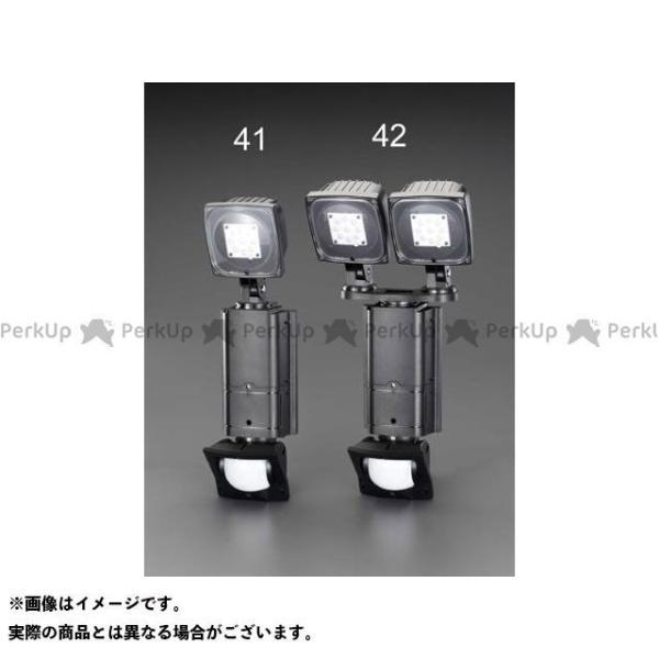 【雑誌付き】エスコ AC100V/31W LEDセンサーライト(調光タイプ/2灯) ESCO