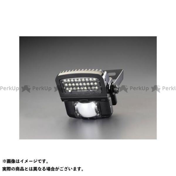 【雑誌付き】エスコ AC100V/39W LEDセンサーライト(調光タイプ) ESCO
