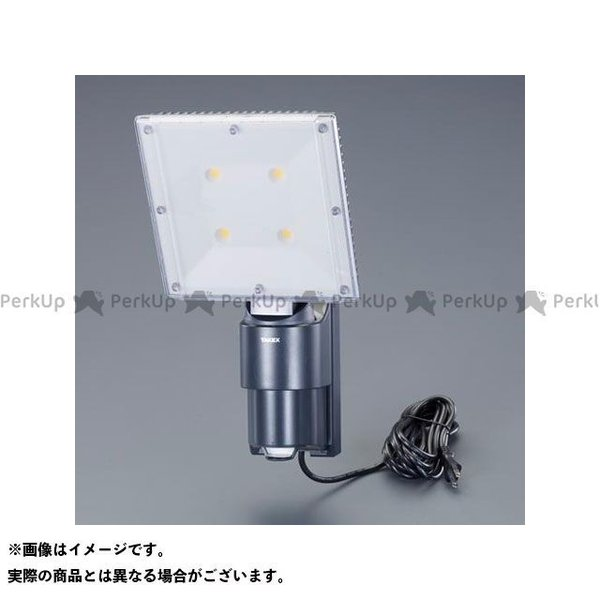 【雑誌付き】エスコ AC100V/60W LEDセンサーライト ESCO