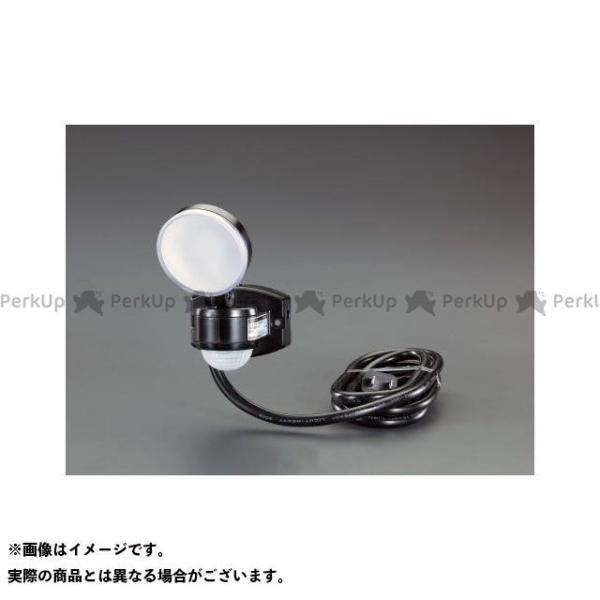 【雑誌付き】エスコ AC100V/4W LEDセンサーライト メーカー在庫あり ESCO