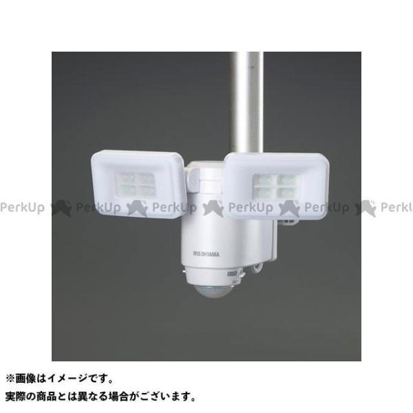【雑誌付き】エスコ AC100V LEDセンサーライト(2灯) ESCO
