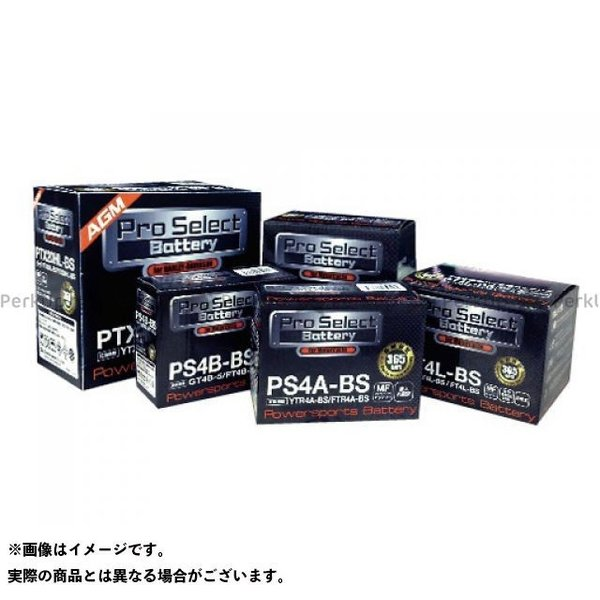 プロセレクトバッテリー Pro Select Battery プロセレクトバッテリー PS4B-BS ジェルタイプ|motoride