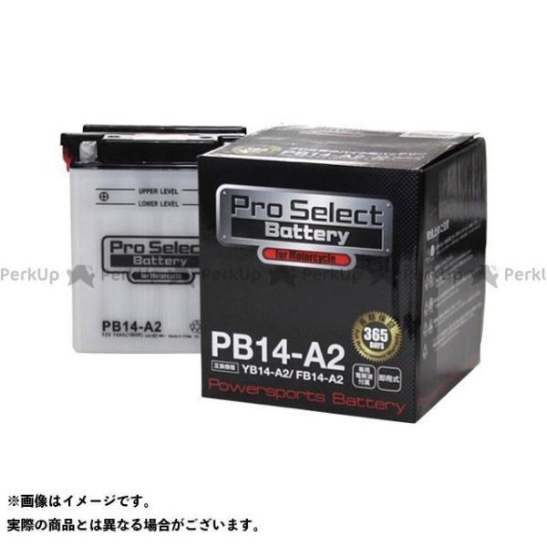 プロセレクトバッテリー Pro Select Battery プロセレクトバッテリー PB14-A2(YB14-A2 互換)|motoride