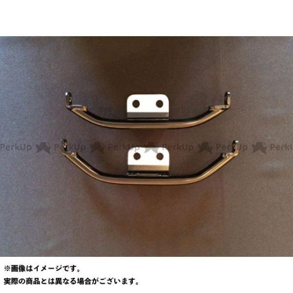 【無料雑誌付き】トランプ スポーツスターファミリー汎用 Bow Style Turn Signal Bracket XL〜03年用 カラー:Silv…