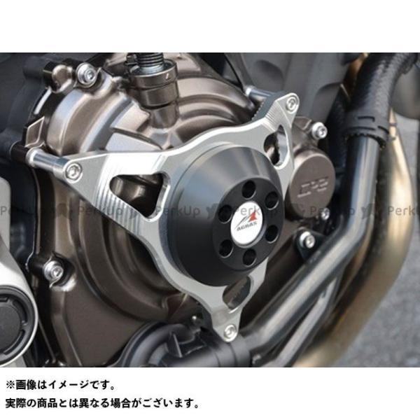 アグラス MT-07 レーシングスライダー 3点セット サブフレームタイプスライダーφ50+クラッチ カラー:ジュラコン/ホワイト タイプ:ロゴ無 …|motoride|02