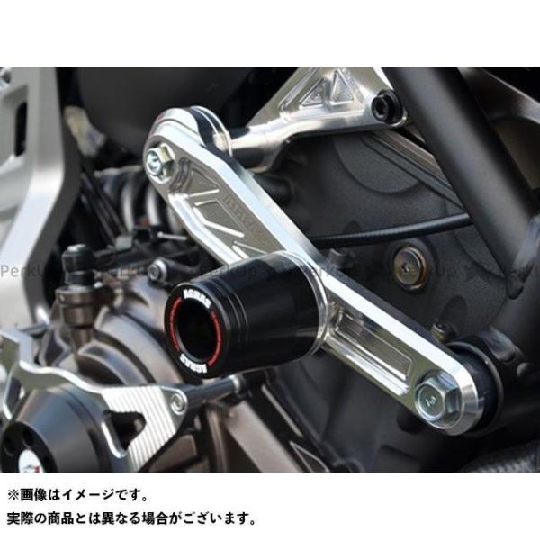 アグラス MT-07 レーシングスライダー 3点セット サブフレームタイプスライダーφ50+クラッチ カラー:ジュラコン/ホワイト タイプ:ロゴ無 …|motoride|03