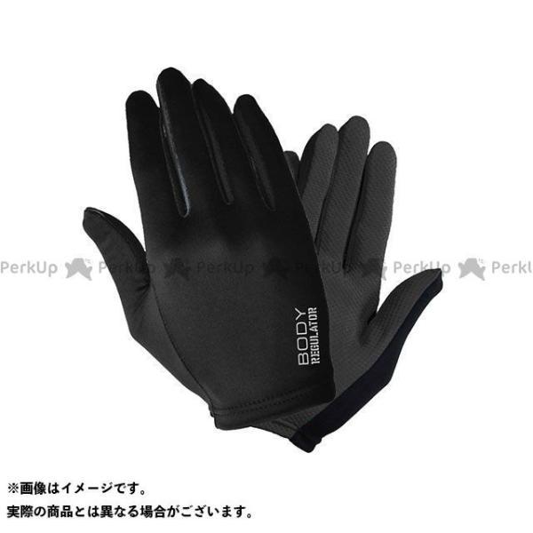 【無料雑誌付き】ボディーレギュレーター YKI-007 インナーグローブ(ブラック) サイズ:L BODY REGULATOR