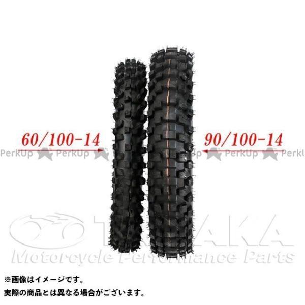 田中商会 リトルカブ スーパーカブ50プロ 14インチブロックタイヤ 60/100-14(チューブ付)   タナカショウカイ|motoride|02