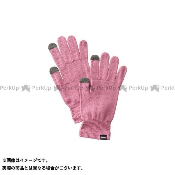 【雑誌付き】プロモンテ GI006U メリノウール インナーフィットグローブ(マゼンタ) サイズ:M PUROMONTE