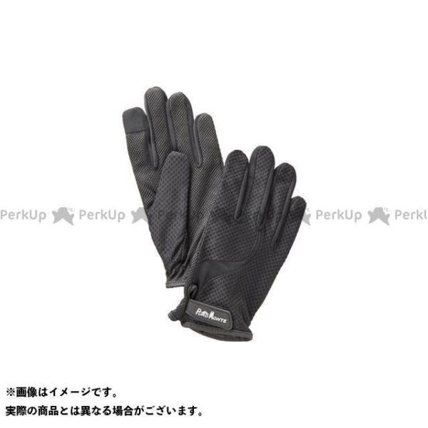 【雑誌付き】プロモンテ GB061U UVケアトレッキンググローブ(ブラック) サイズ:S PUROMONTE