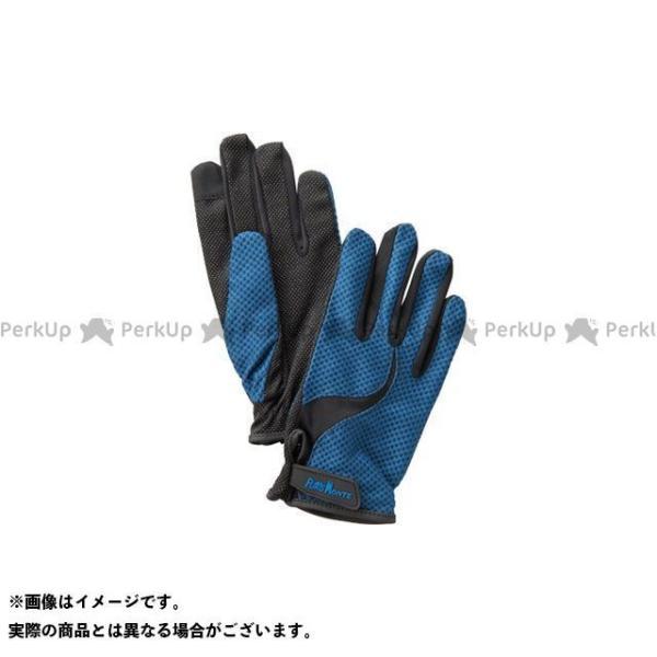 【無料雑誌付き】プロモンテ GB061U UVケアトレッキンググローブ(ネイビー) サイズ:M PUROMONTE
