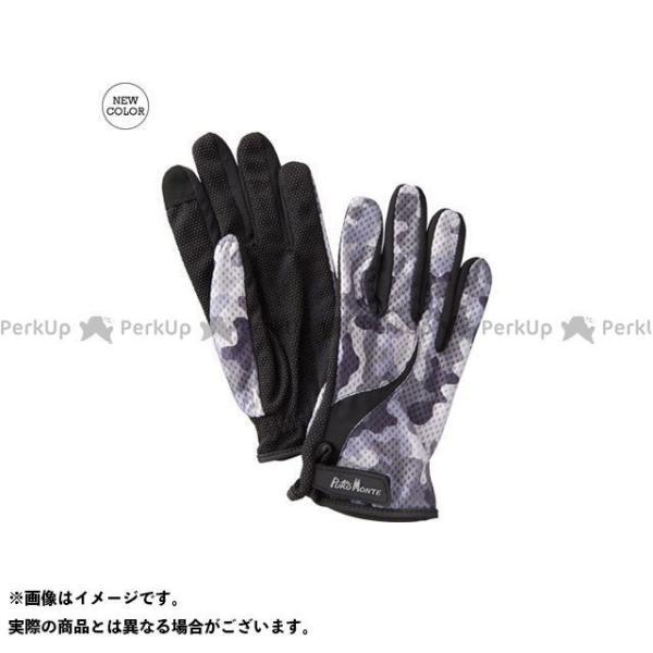 【雑誌付き】プロモンテ GB061U UVケアトレッキンググローブ(ホワイトカモ) サイズ:M PUROMONTE