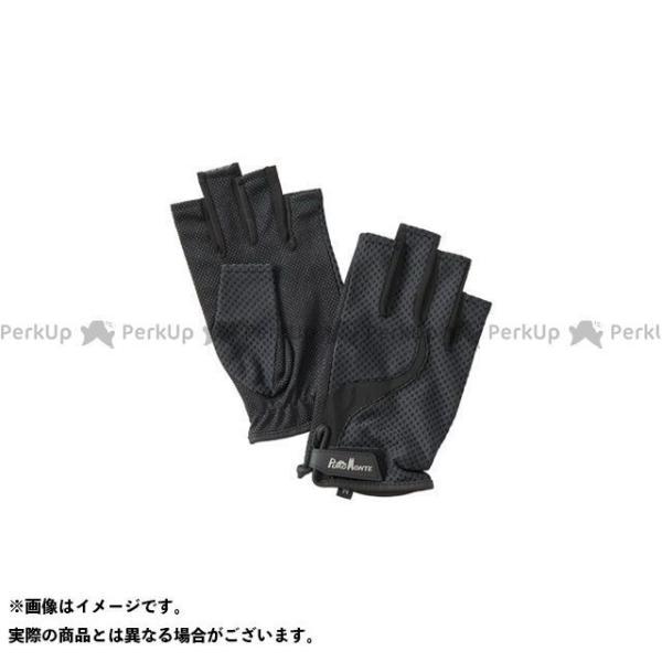 【無料雑誌付き】プロモンテ GB058U UVケアトレッキンググローブ フィンガーレス(ブラック) サイズ:SS メーカー在庫あり PUROMONTE