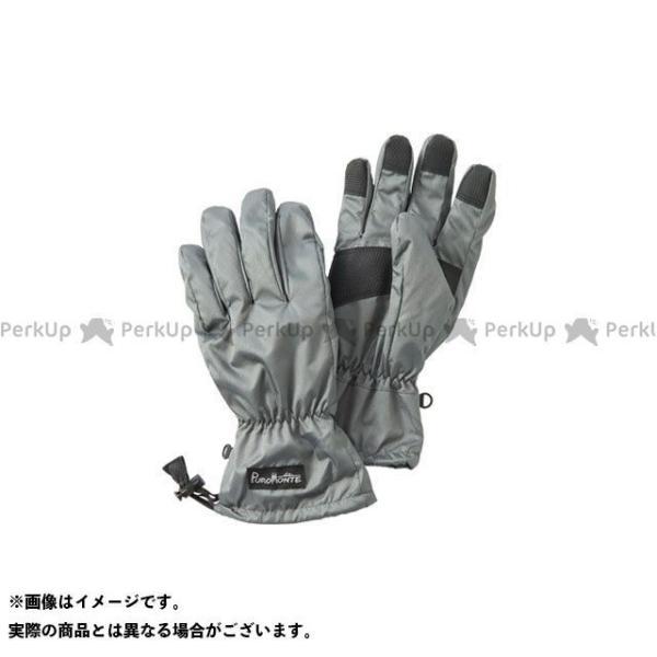 【雑誌付き】プロモンテ GB052U ライトシェルレイングローブ(グレー) サイズ:L PUROMONTE