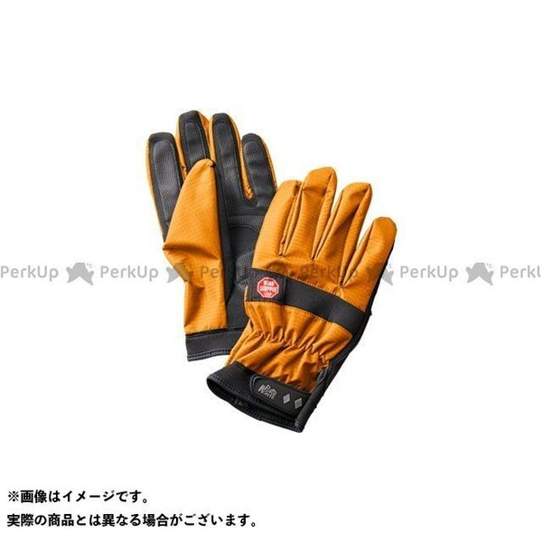 【雑誌付き】プロモンテ GB055U ゴア ウインドストッパーグローブ(オレンジ) サイズ:S PUROMONTE