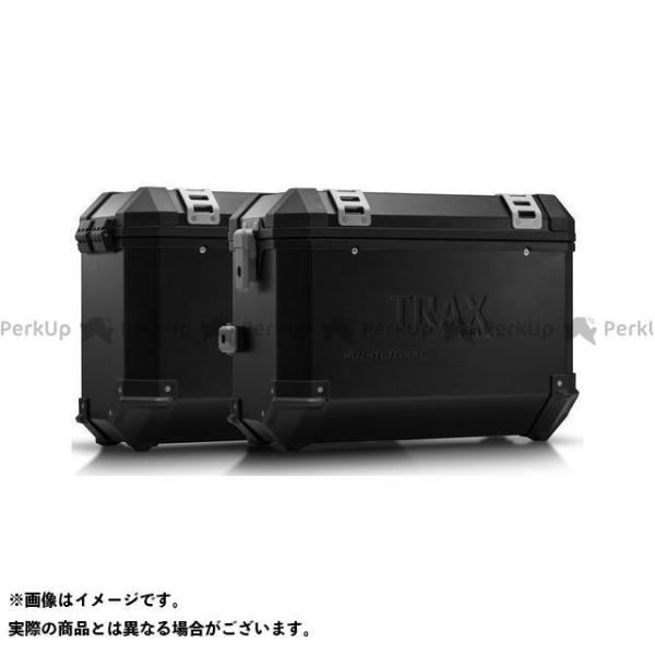 【雑誌付き】SWモテック VFR800X クロスランナー TRAX(トラックス)ION アルミケースシステム ブラック 37/37 L. Honda…