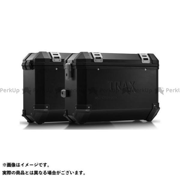 【雑誌付き】SWモテック VFR1200X・クロスツアラー TRAX(トラックス)ION アルミケースシステム ブラック 37/37 L. Hond…