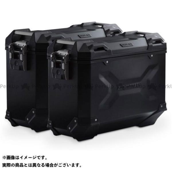 【雑誌付き】SWモテック X-ADV TRAX ADV アルミ ケースシステム -ブラック- 37/37 l. Honda X-ADV(16-).|…