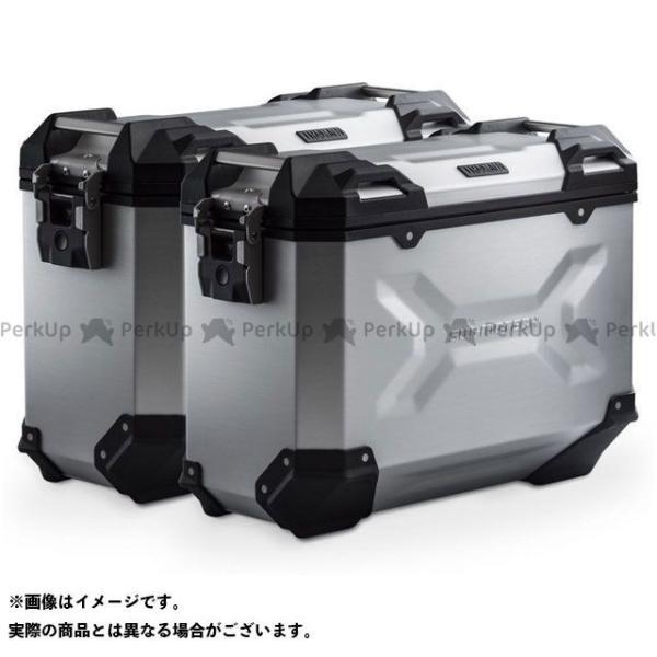 【雑誌付き】SWモテック X-ADV TRAX ADV アルミ ケースシステム-シルバー-37/37 l. Honda X-ADV(16-).|KF…