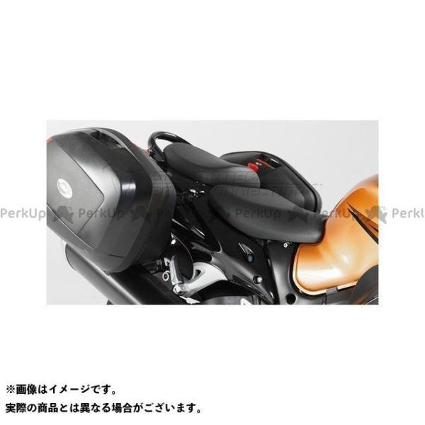 【無料雑誌付き】SWモテック 隼 ハヤブサ GIVI V35サイドケース用クイックロックキャリアー GSX-R 1300 Hayabusa(08-)…