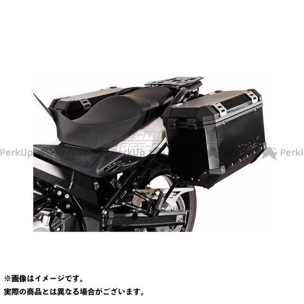 【雑誌付き】SWモテック Vストローム650XT QUICK LOCK(クイックロック)EVO サイドケースホルダー -ブラック- DL 650(1…