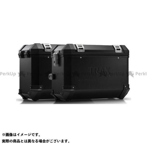 【雑誌付き】SWモテック TRAX(トラックス)ION アルミケースシステム ブラック 45/45 l. BMW F650GS(-07)/G650G…