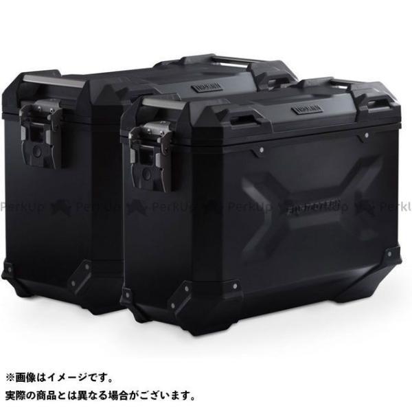 【雑誌付き】SWモテック F650GS F700GS F800GS TRAX ADV アルミ ケースシステム -ブラック- 37/45 l. BMW…
