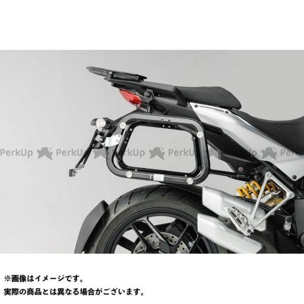 【雑誌付き】SWモテック ムルティストラーダ1200 ムルティストラーダ1200S QUICK-LOCK(クイックロック)EVO サイドケースキャリ…